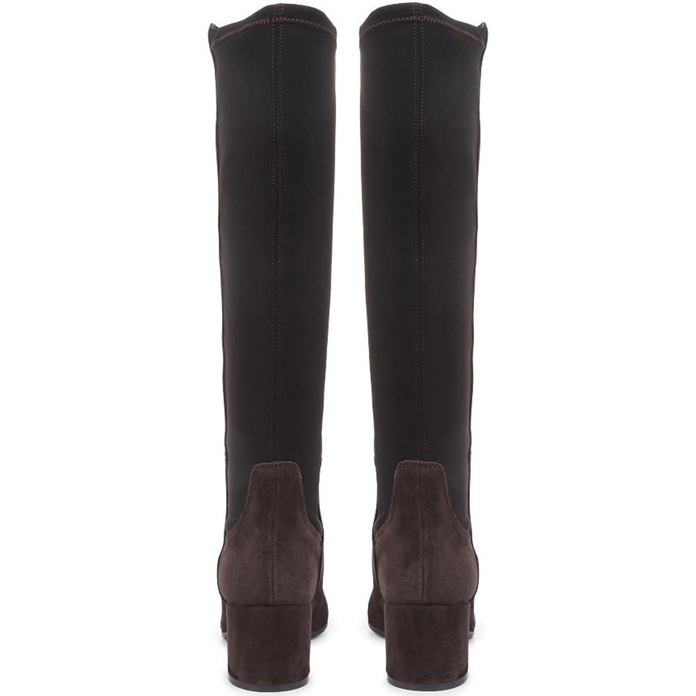 Bari Leather Knee-Boots - BARI / 318 957