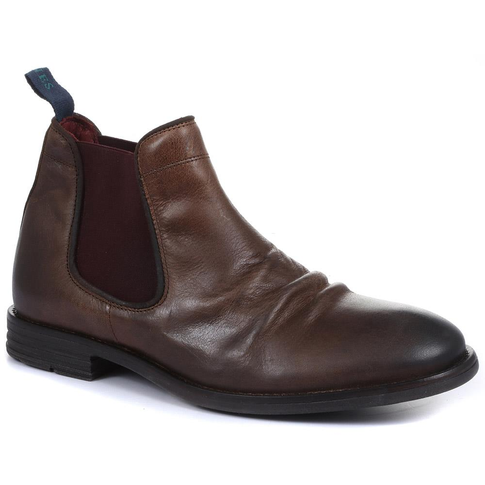Theodore Leather Chelsea Boots - THEODORE / 319 280