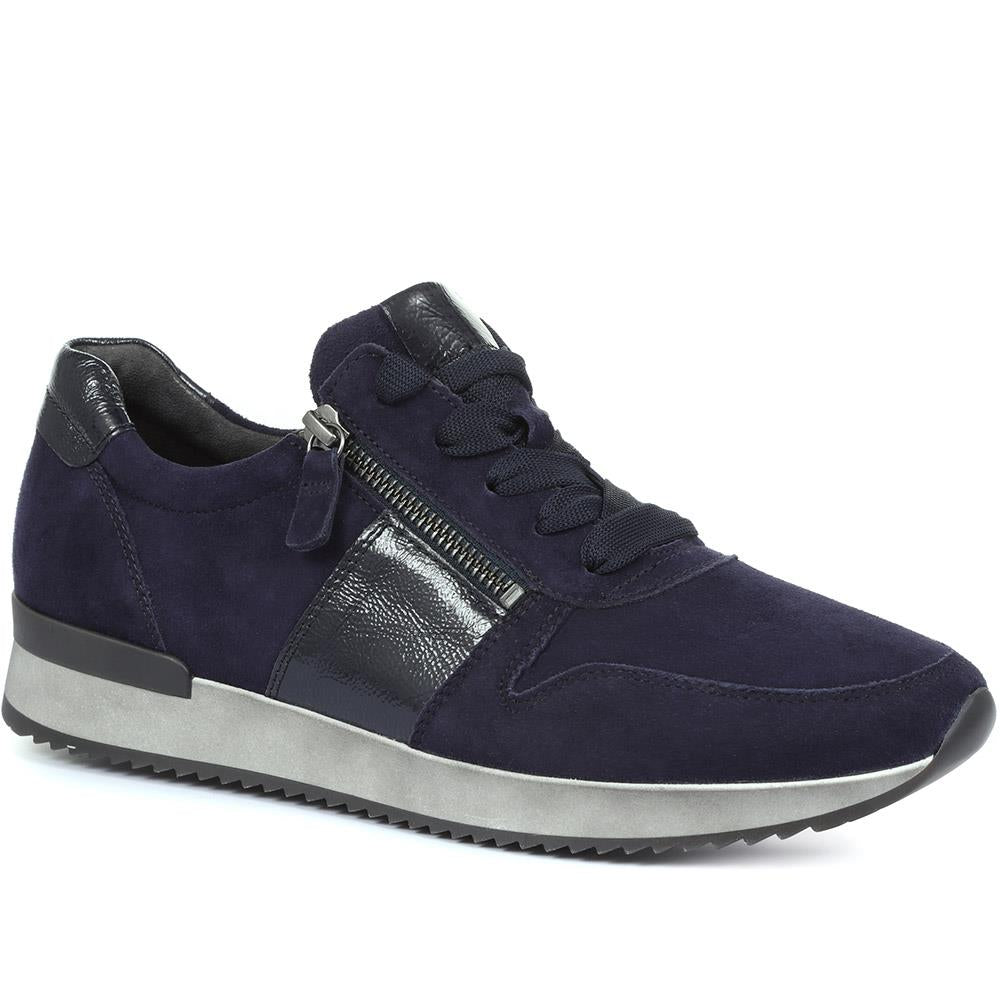 Lulea Casual Leather Lace-Up Trainers - GAB30545 / 316 623