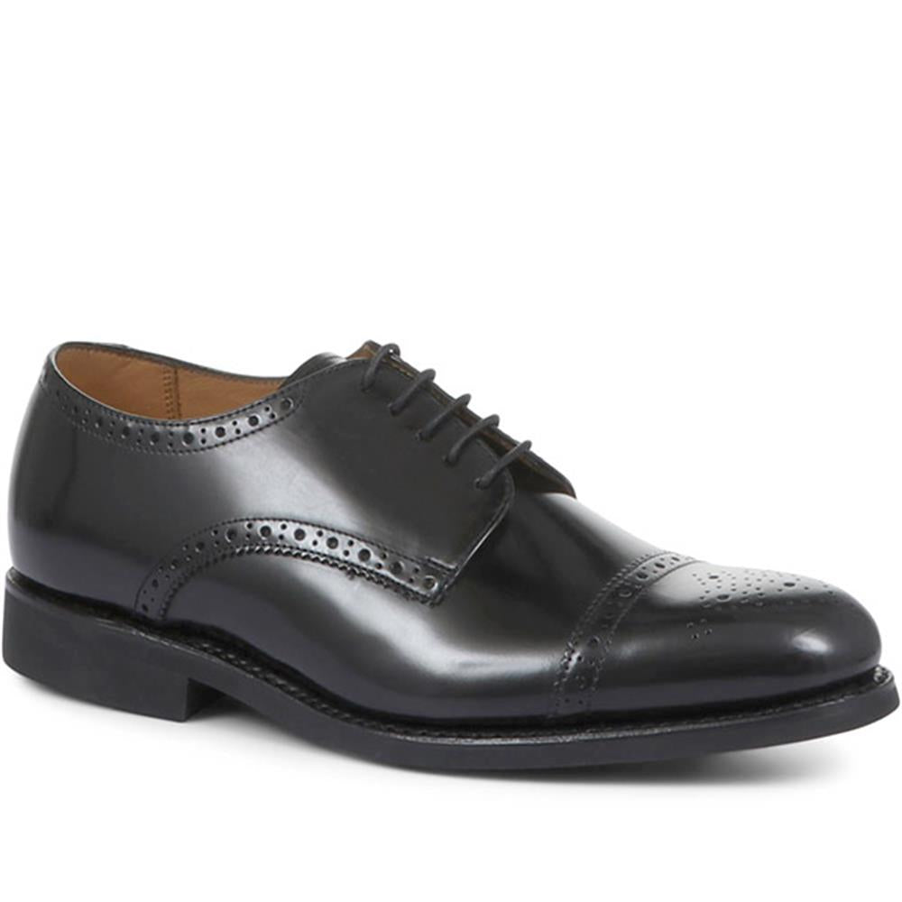 Mile End Goodyear Welted Polished Leather Brogues - MILEEND2 / 318 986