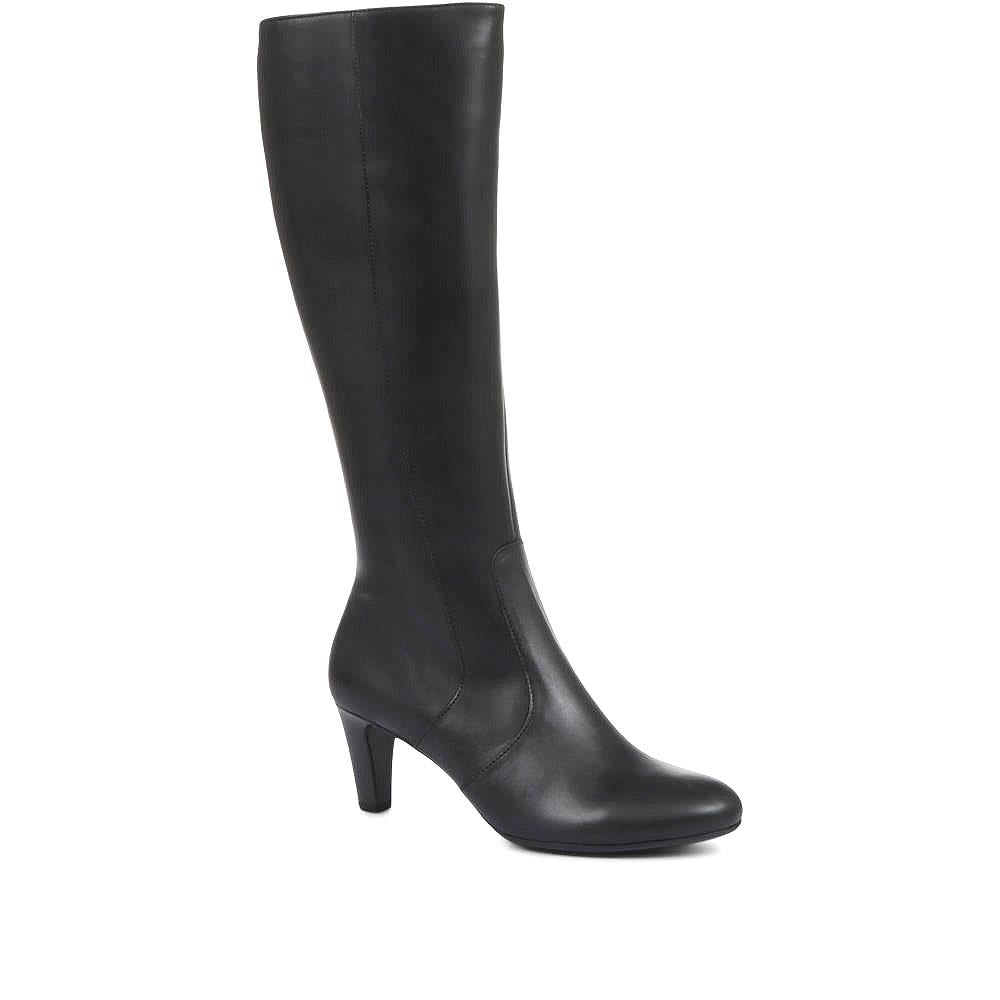 Mid-Calf Leather Boots - GAB32522 / 319 159