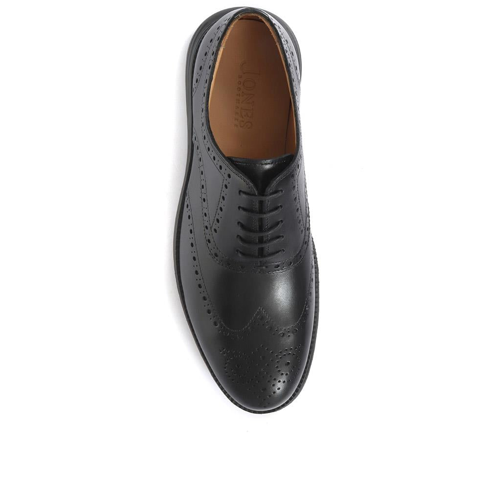 Lawrence Lace-Up Leather Brogues - LAWRENCE / 319 851