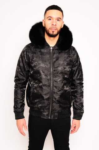 Men's Bomber Jacket Black