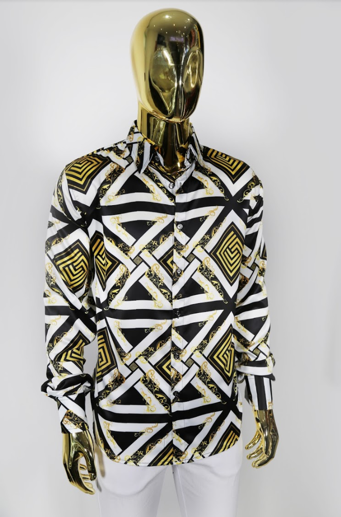 Regal Print Silk Shirt