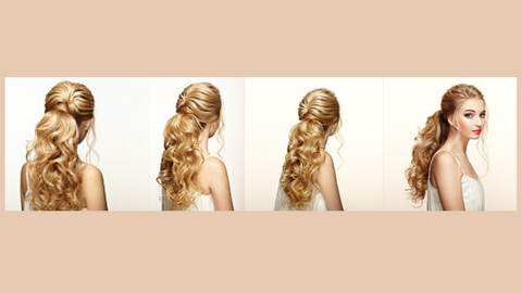 How To Apply Ponytail Hair Extensions