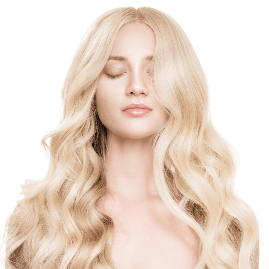 "#60 Pure Blonde 24"" Clip-in (200 Grams)"