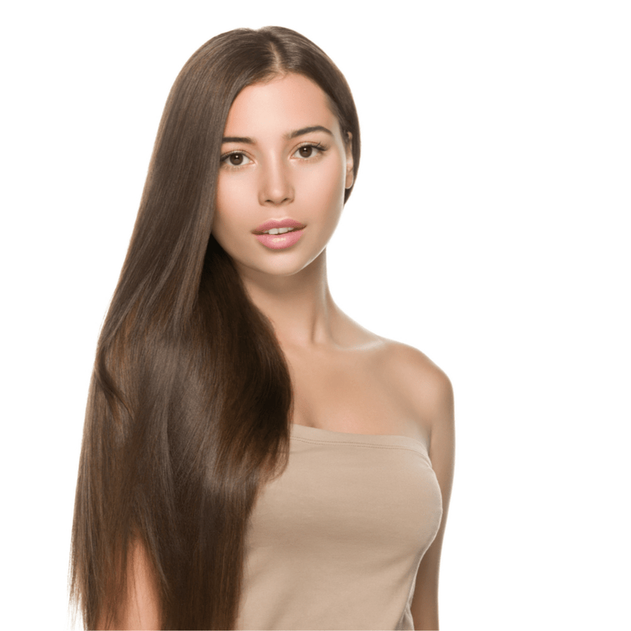 "#4 Light Ash Brown 24"" Clip-in (200 Grams) 