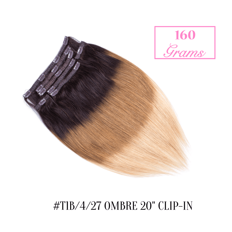 "#T1b/4/27 Ombre 20"" Clip-in (160 Grams)"