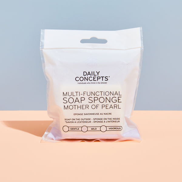Daily Concepts | Multi-Functional Soap Sponge Mother of Pearl