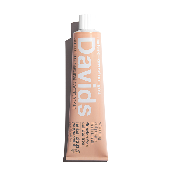 Davids | premium natural toothpaste in Herbal Citrus Peppermint