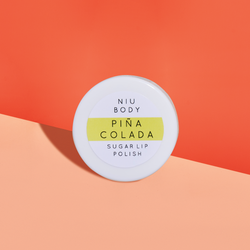 NIU Body Piña Colada Sugar Lip Polish