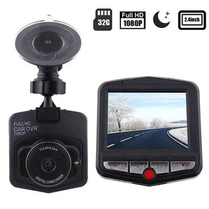 "DASHCAM CAR - FULL HD 1080P WITH 2.4 ""LCD DVR + INFRARED VISION FOR NIGHT"