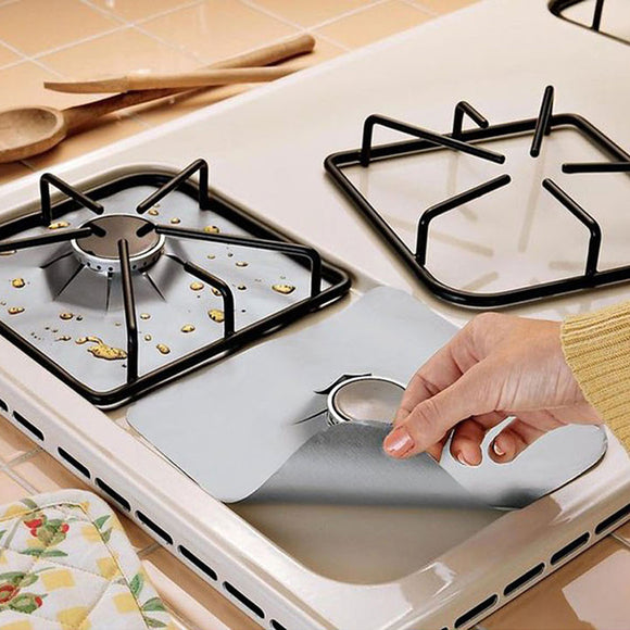 4Pcs / Set Gas Stove Cooker Protector