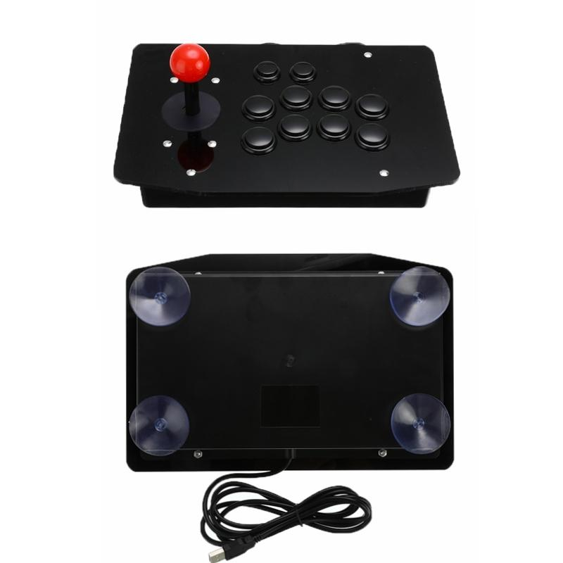 CEWAAL Arcade Joystick For PC With USB Fight Stick