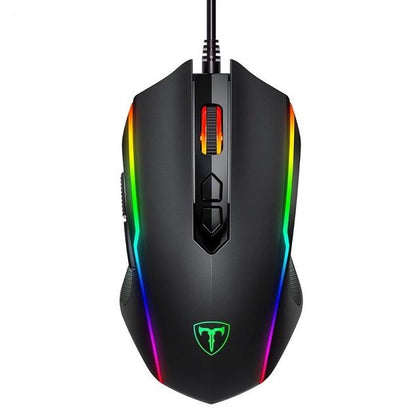 Victsing Optical & Ergonomic Wired Gaming Mouse With Rapid Fire Button - Crillow
