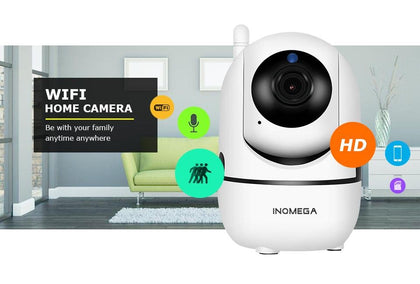 INQMEGA Wireless Security Camera System & Home Security Surveillance CCTV Camera Kit - Crillow