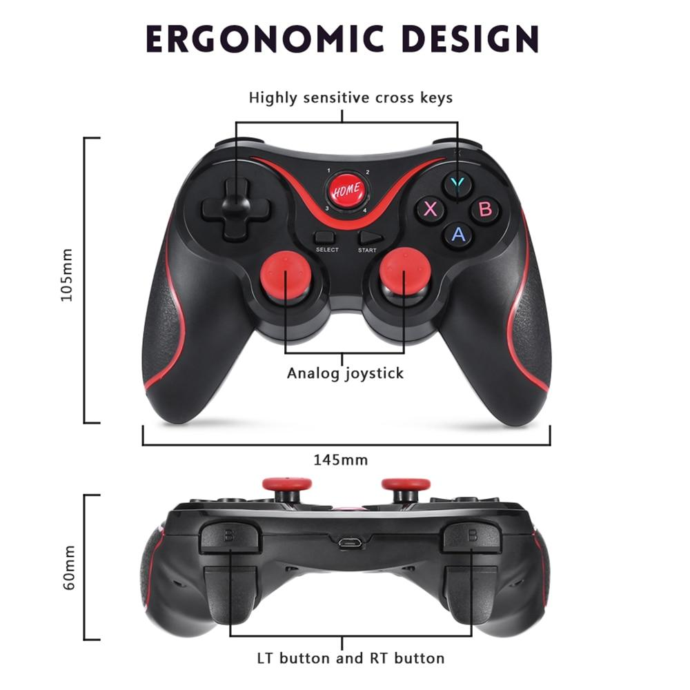 Gen-Game X3 Wireless PS3 Remote Controller Bluetooth Gamepad For PC, Android, TV