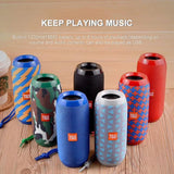 T&G 117 Waterproof Portable Bluetooth Speakers With TF Card & FM Radio Support - Crillow