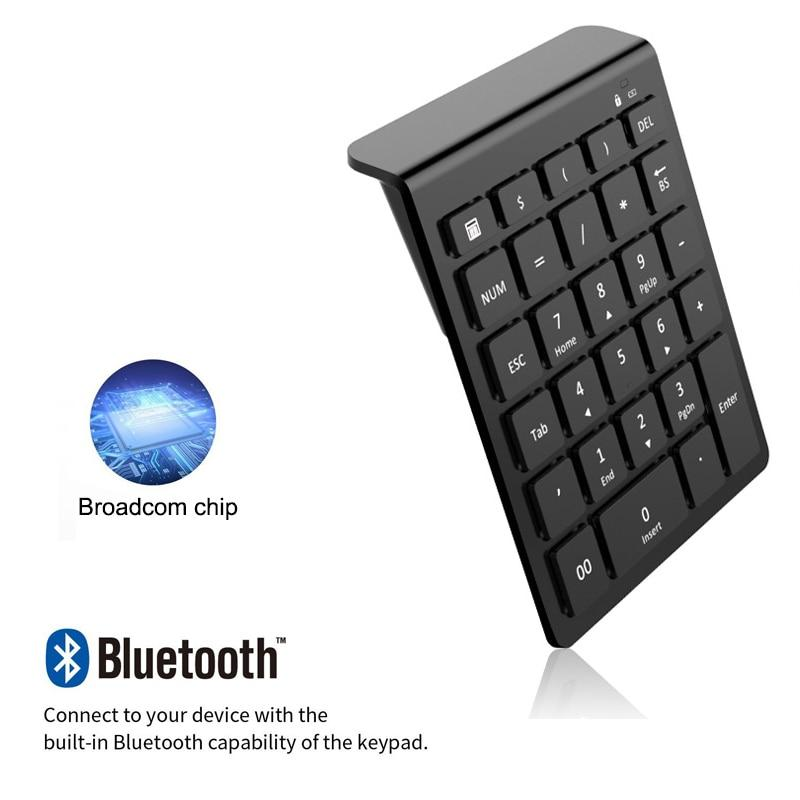 AVATTO Bluetooth Wireless Numeric Keypad & Digital Keyboard For PC