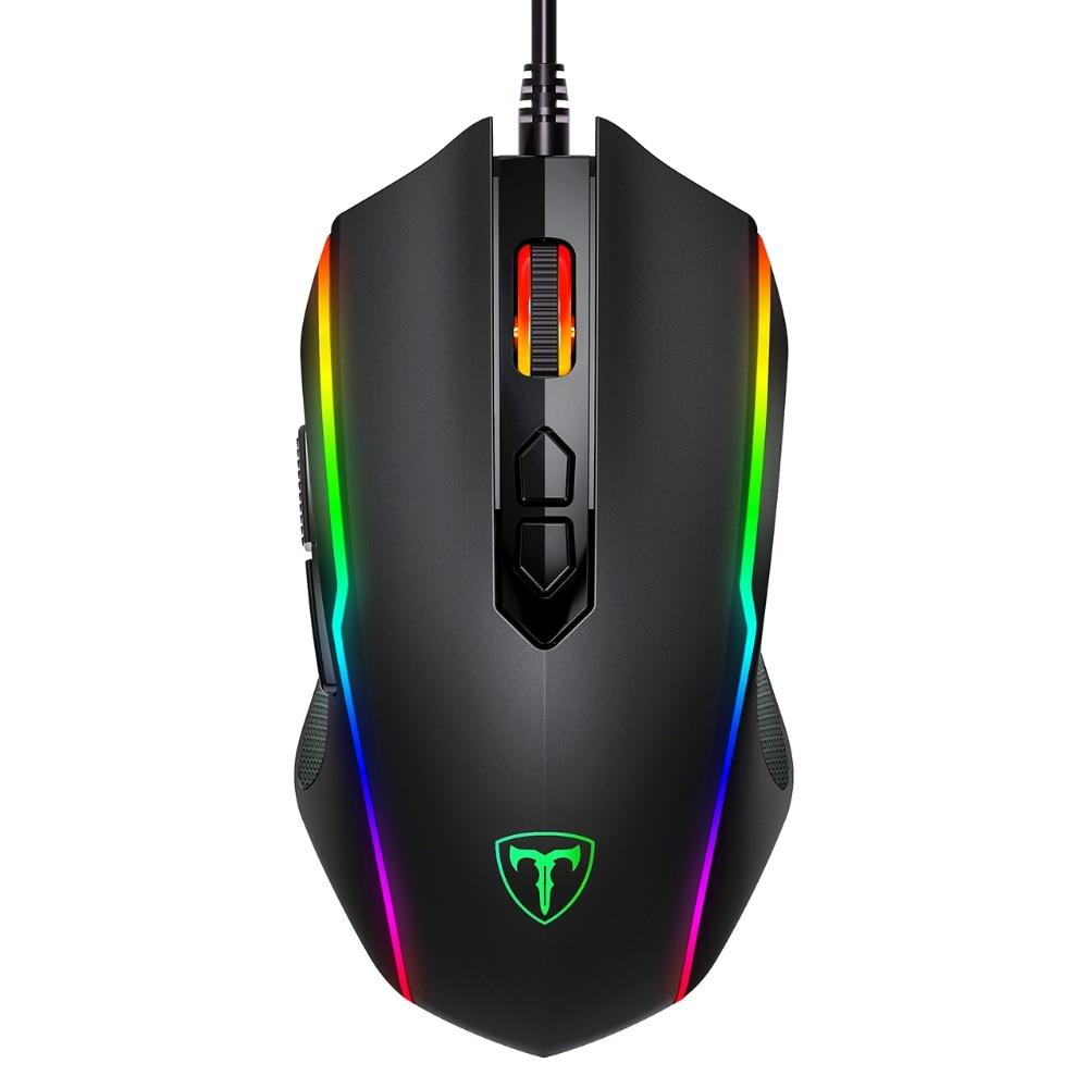 Victsing Optical & Ergonomic Wired Gaming Mouse With Rapid Fire Button