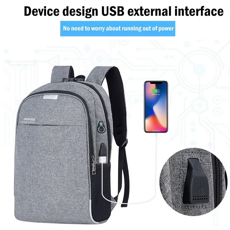 Anti-Theft USB Travel Waterproof Backpack With Charger