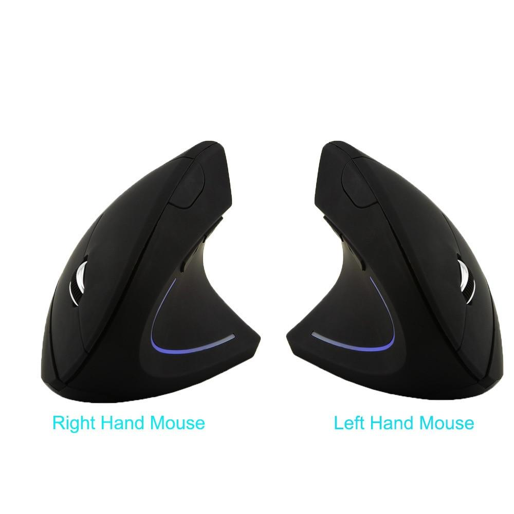 CHYI USB Optical Vertical Gaming Mouse Left/Right-Handed Ergonomic