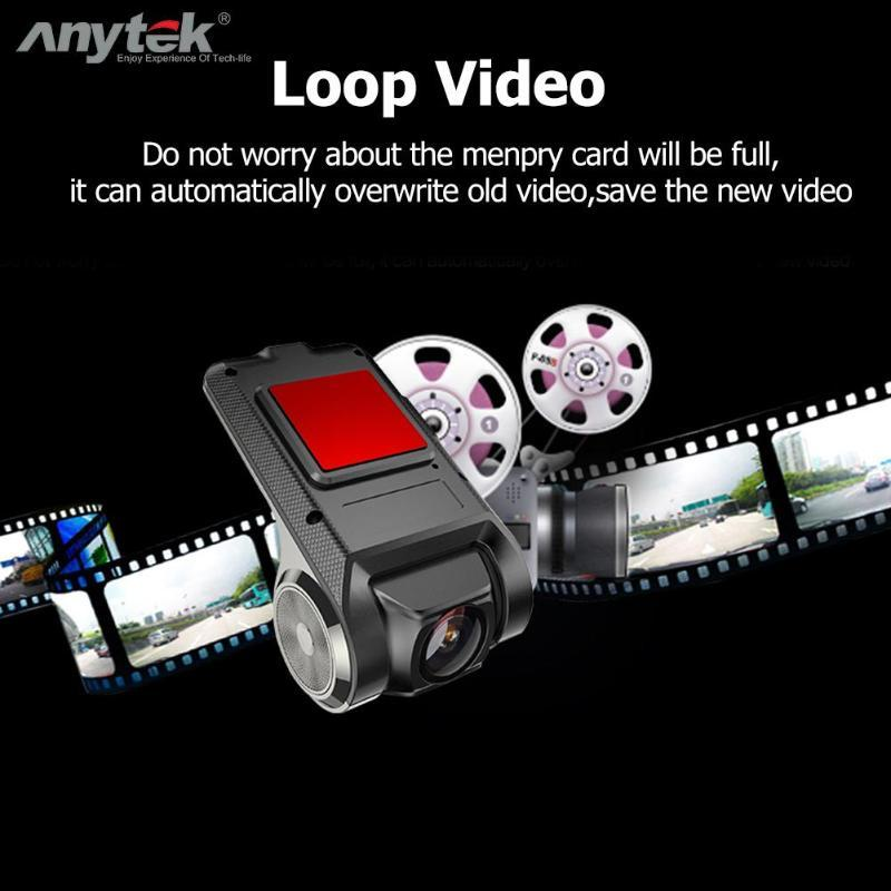 ANYTEK X28 Car Dash Cam, Electronic Accessories Camcorder With FHD DVR-1080p