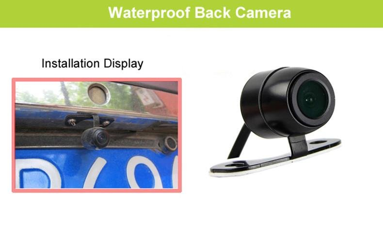 E-ACE Dash Cams Mirror FHD 1080P Car DVR & Desk Camera