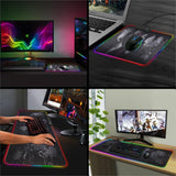 RGB XXL Computer Desk Mat & Large Gaming Surface Mouse Pad - Crillow