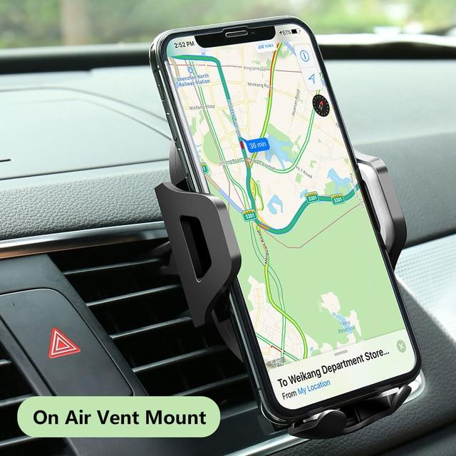 KISSCASE Best iPhone Car Holder & Windshield Mount For iPhone X, 11 Pro