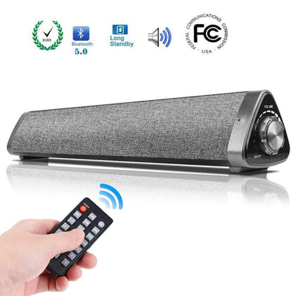 Boombox Bluetooth TV Speakers & Soundbar With Subwoofer - Crillow