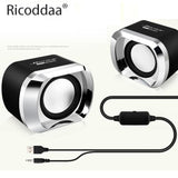 Ricoddaa Mini USB & Bluetooth Speakers For Computer/Laptop - Crillow