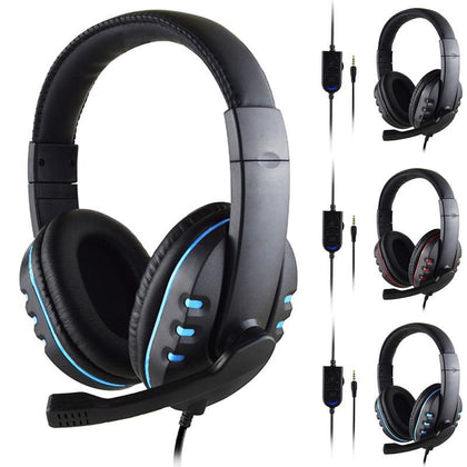 SOONHUA 3.5mm Wired PC Gaming Headphones With Mic - Crillow