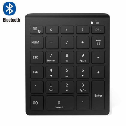 AVATTO Bluetooth Wireless Numeric Keypad & Digital Keyboard For PC - Crillow