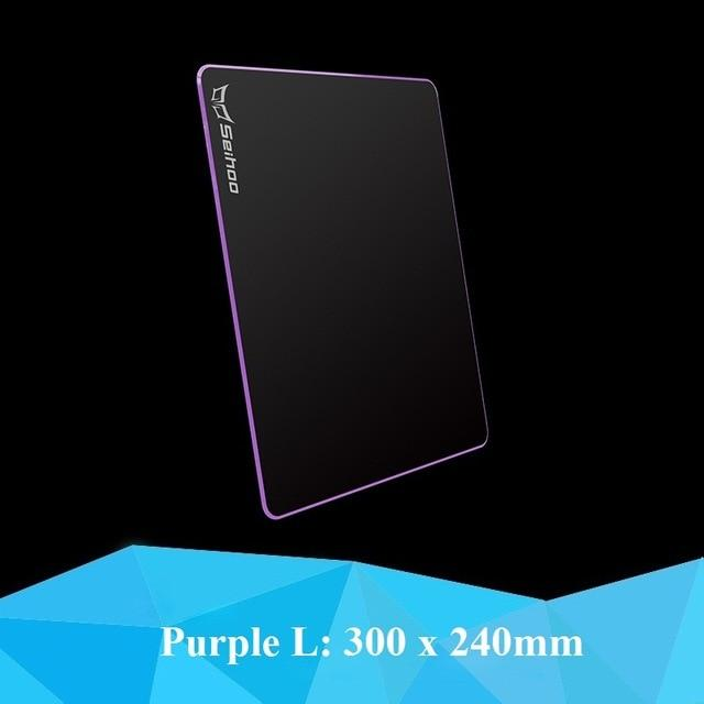 Hard Plastic Silicone Resin Large Gaming Mouse Pad