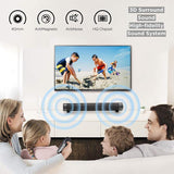 Bluetooth Surround Sound Speakers Wired And Wireless Home Theater For PC, TV - Crillow