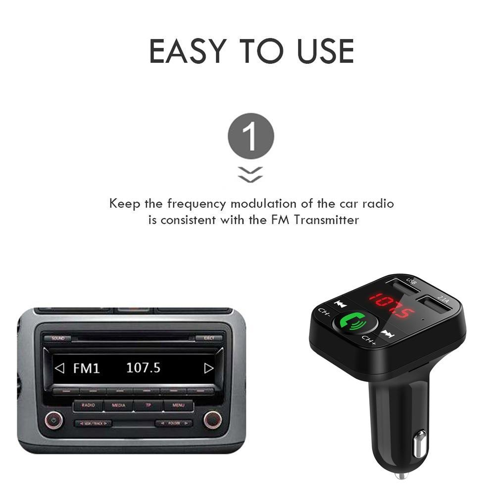 Wireless Bluetooth Handsfree Car Adaptor & Transmitter Kit