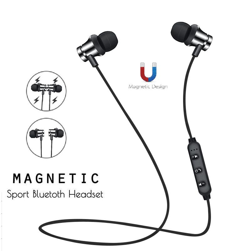 Wireless Bluetooth Neckband sports Earbuds for All Smartphones