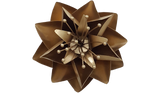 Gold Lotus Flower, Metal Flower Wall Art - Watson & Co