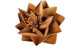 Rust Lotus Flower, Metal Flower Wall Art - Watson & Co