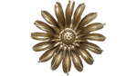 Gold Sunflower, Metal Flower Wall Art - Watson & Co