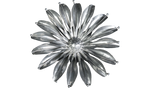 Platinum Sunflower, Metal Flower Wall Art - Watson & Co
