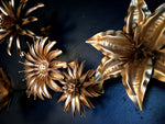 Gold Lily Flower, Metal Flower Wall Art - Watson & Co