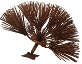 Rust Dandelion Flower, Metal Flower Wall Art - Watson & Co