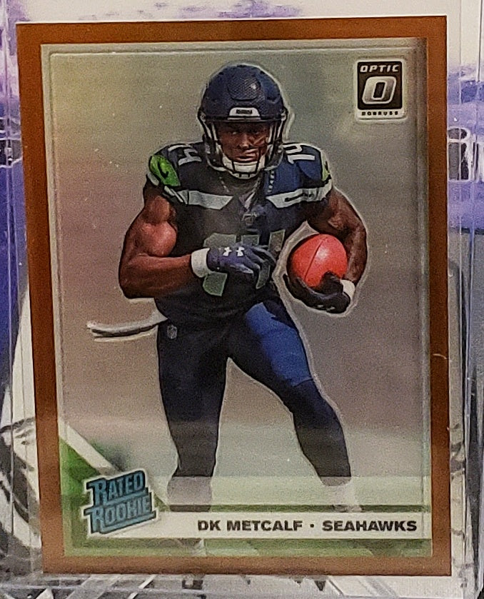 2019 Optic DK Metcalf Bronze Rated Rookie