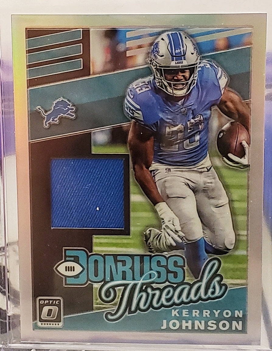 2019 Donruss Threads Silver 1 Color Patches - Pick Your Player