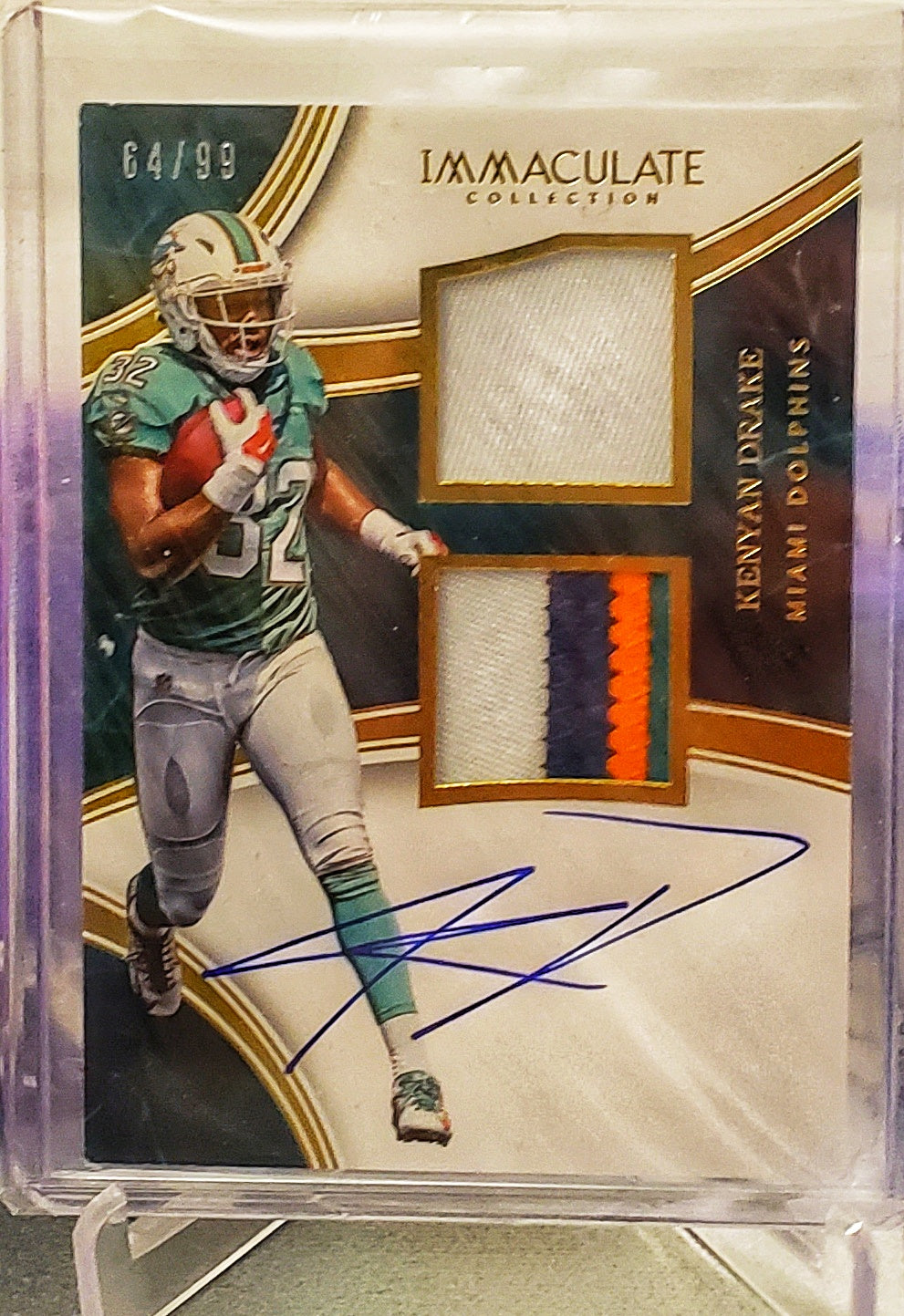 2016 Immaculate Kenyan Drake 4 Color RPA /99