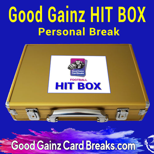 PERSONAL 2020 GOOD GAINZ FOOTBALL HIT BOX BREAK - SERIES 2