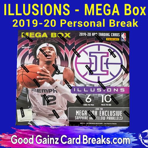 PERSONAL 2019/20 PANINI ILLUSIONS BASKETBALL MEGA BREAK
