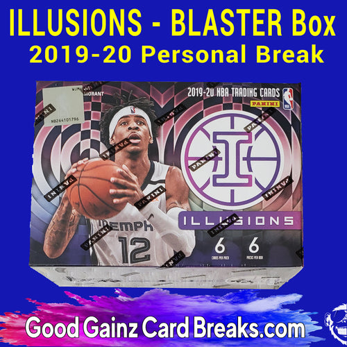 PERSONAL 2019/20 PANINI ILLUSIONS BASKETBALL BLASTER BREAK